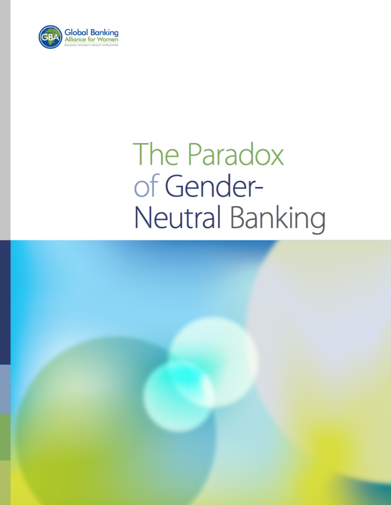 Paradox of Gender Neutral Banking GBA