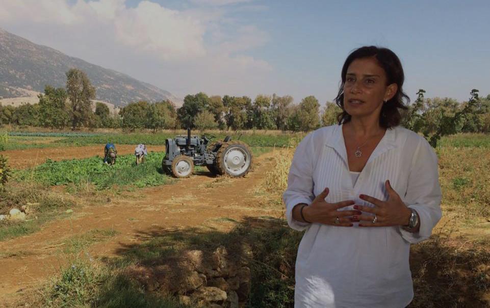 Zeina Khoury Daoud Le Potager BLC Brilliant Lebanese Awards 2016 Woman Entrepreneur
