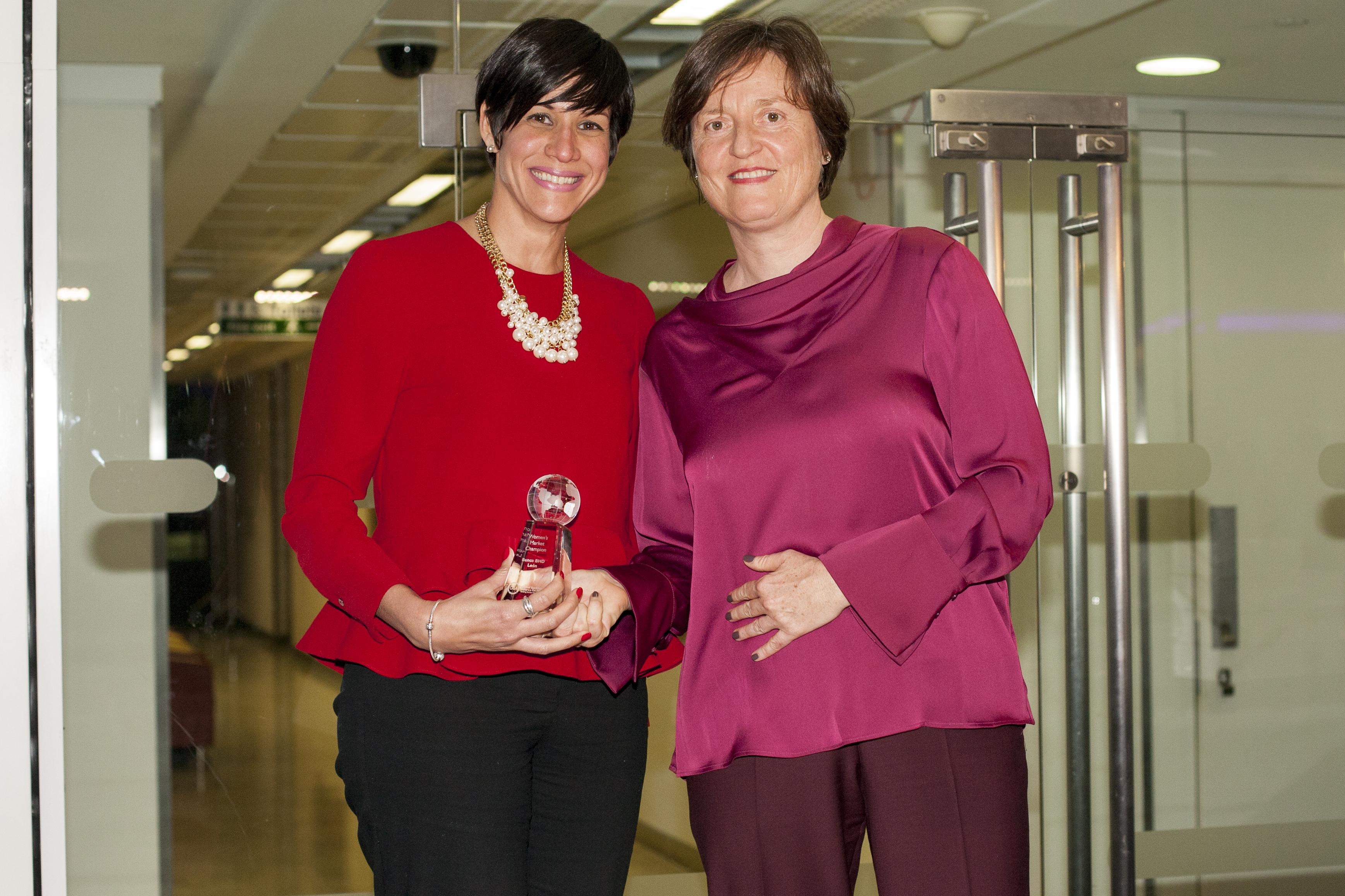 BHD León 2017 Women's Market Champion Award
