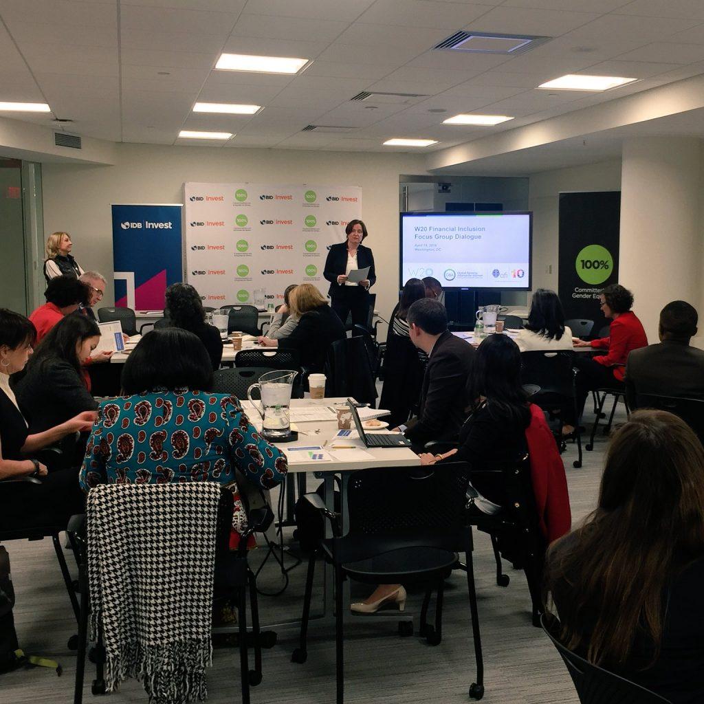 W20 Financial Inclusion Focus Group Dialogue 2018