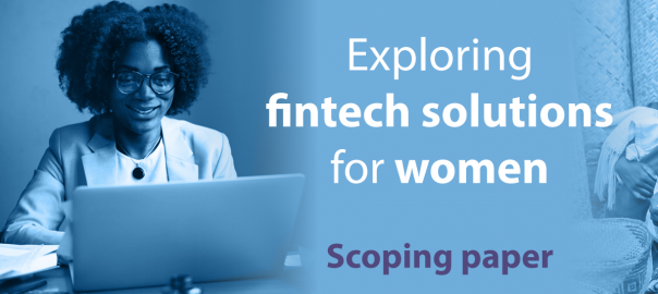 Exploring FinTech Solutions for Women IDRC Mastercard